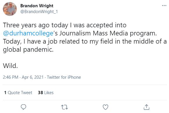 Brandon Wright Tweet