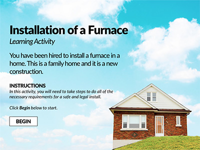 Installation of a Furnace Example Thumbnail