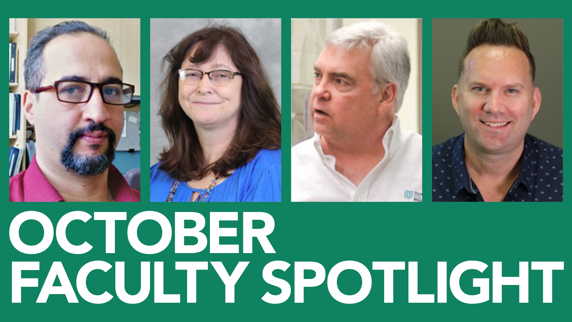 Shows profile picture of faculty members featured on the blog post