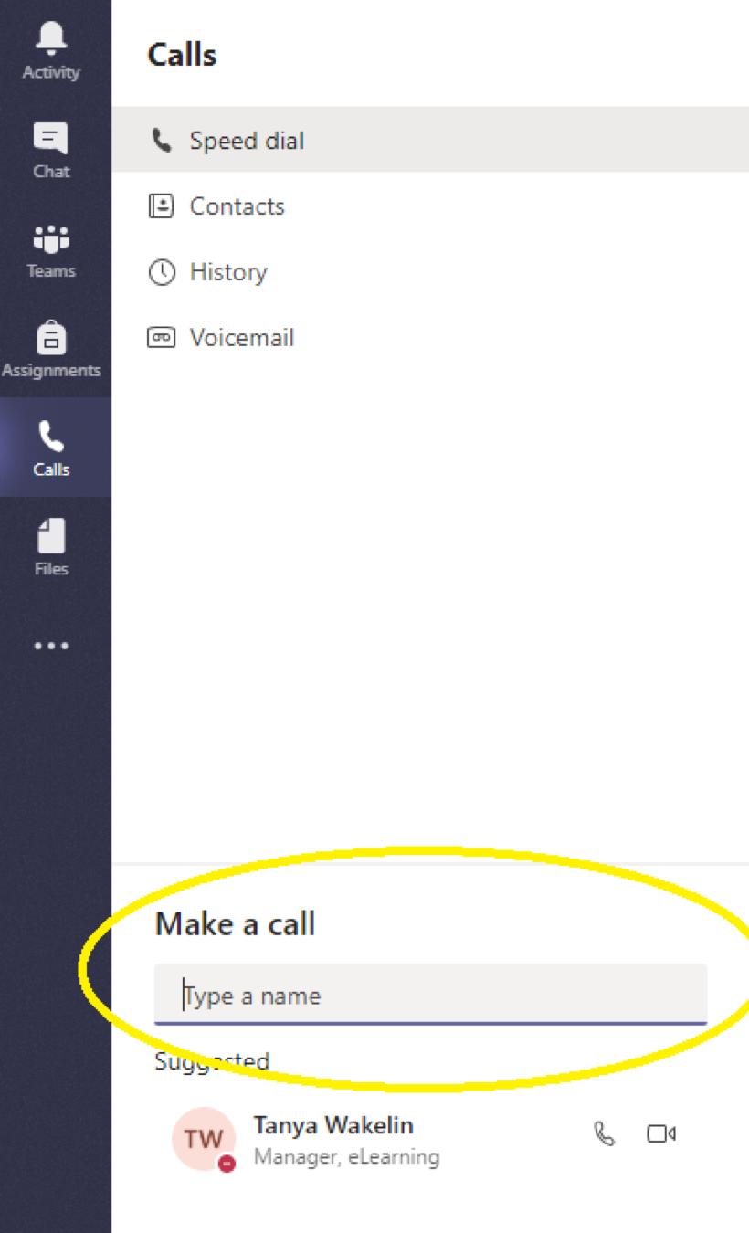 Teams Make a Call