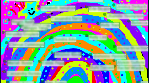 Virtual Classroom Rainbow Drawing