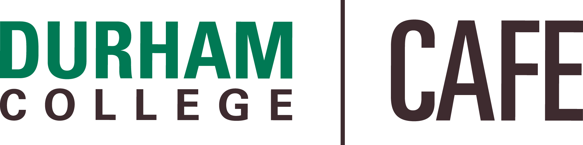 Durham College CAFE Logo Stacked