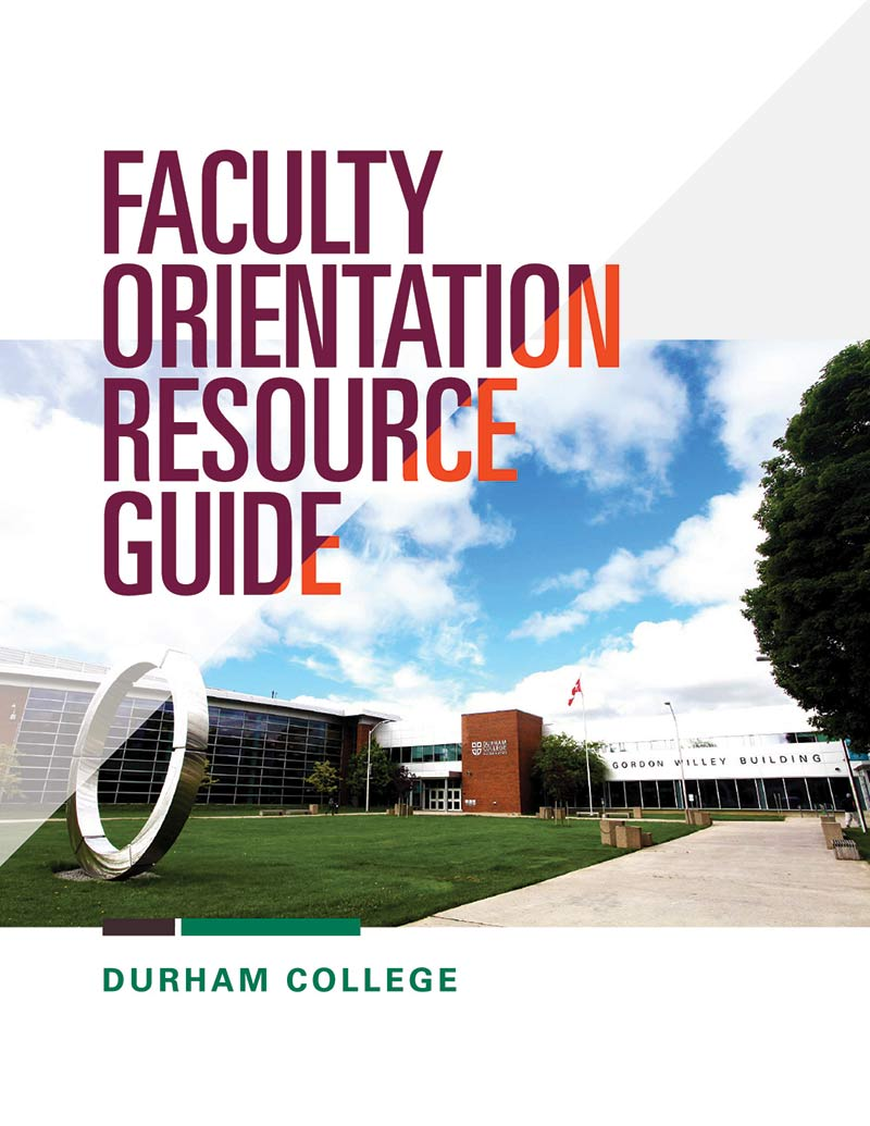 Faculty Orientation Guide cover
