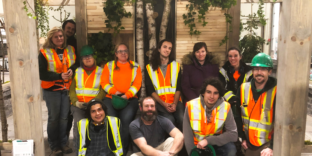 Group picture of Durham College Horticulture Technician students