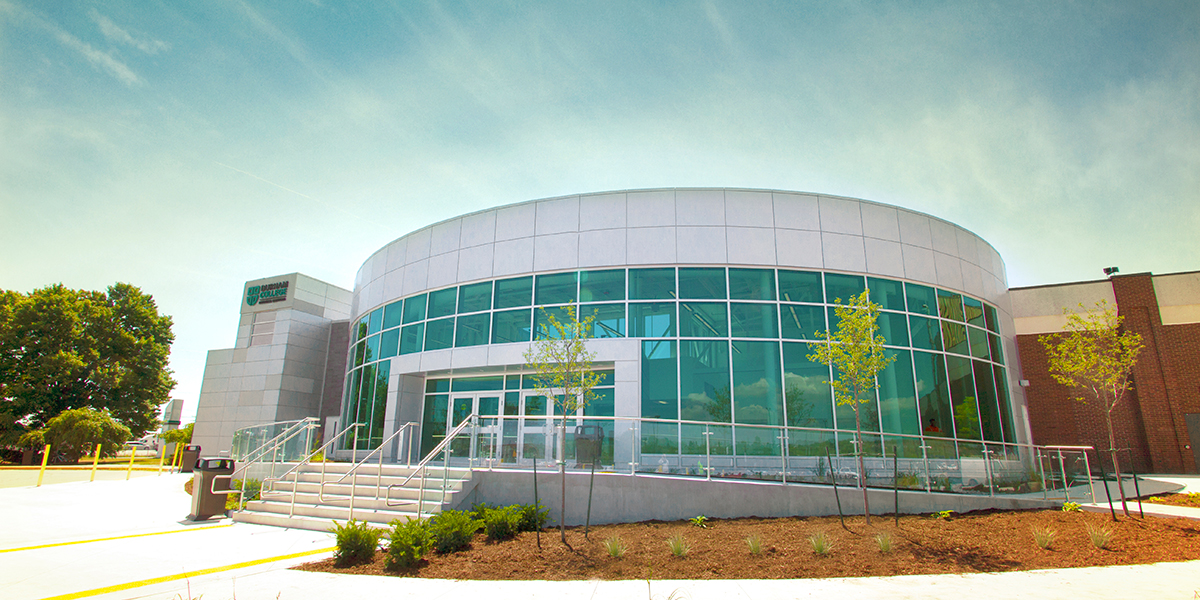 Durham College Whitby campuses new entrance.