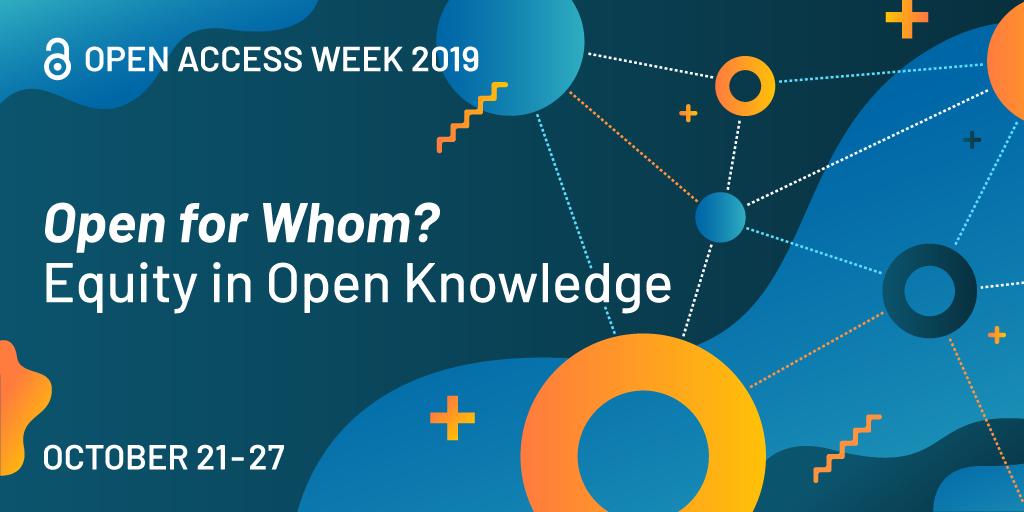 open access week is October 21 -27