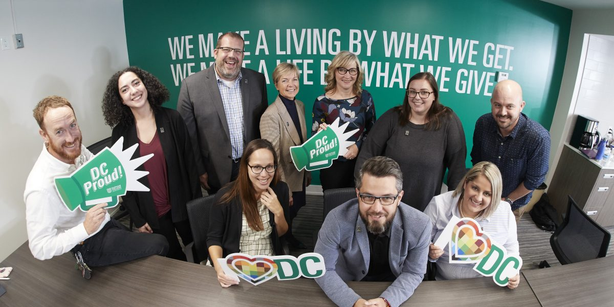 Group photo of 2019-2020 DC Alumni Association Board of Directors