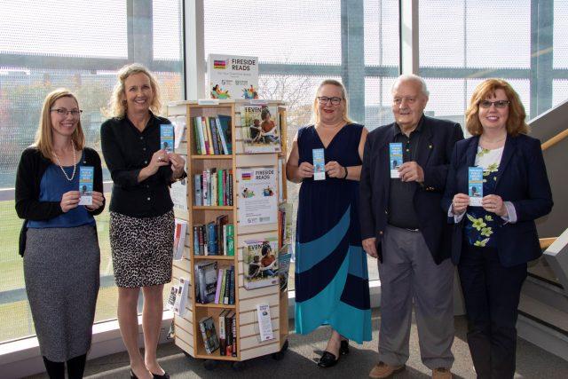 OPL pocket library launch at Oshawa Campus Library