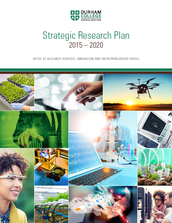 Cover photo of ORSIE strategic research plan