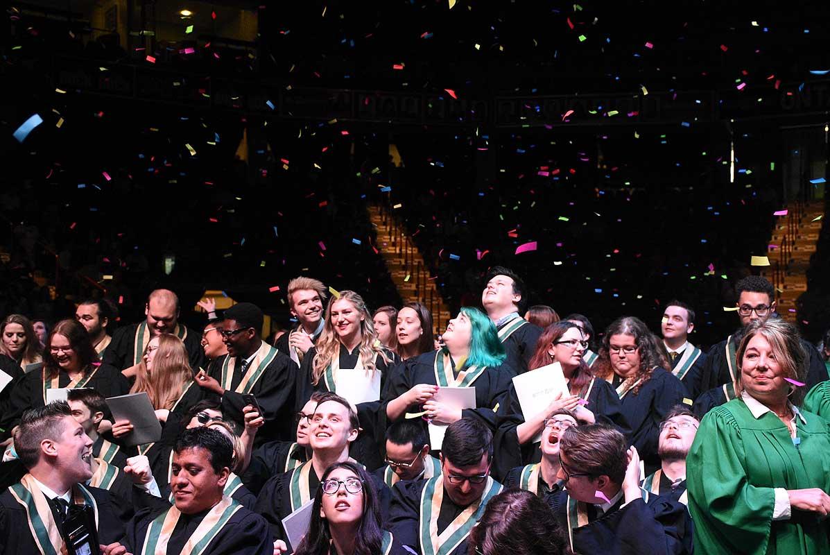 Convocation graduates