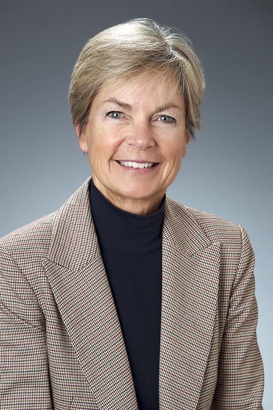 Portrait of Sally Hillis.