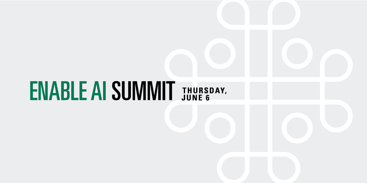 Enable AI Summit header