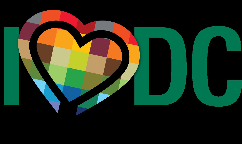 I heart dc logo