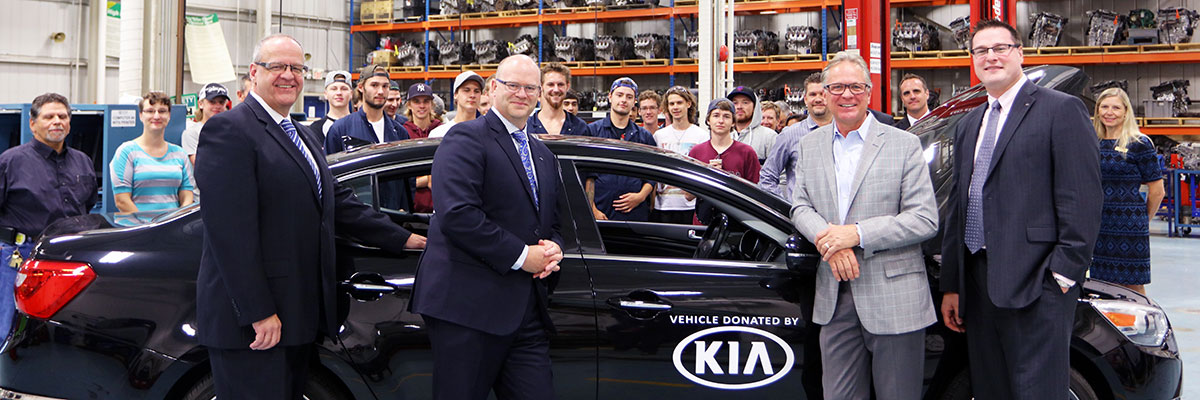 Kia Canada Inc. donation to DC.