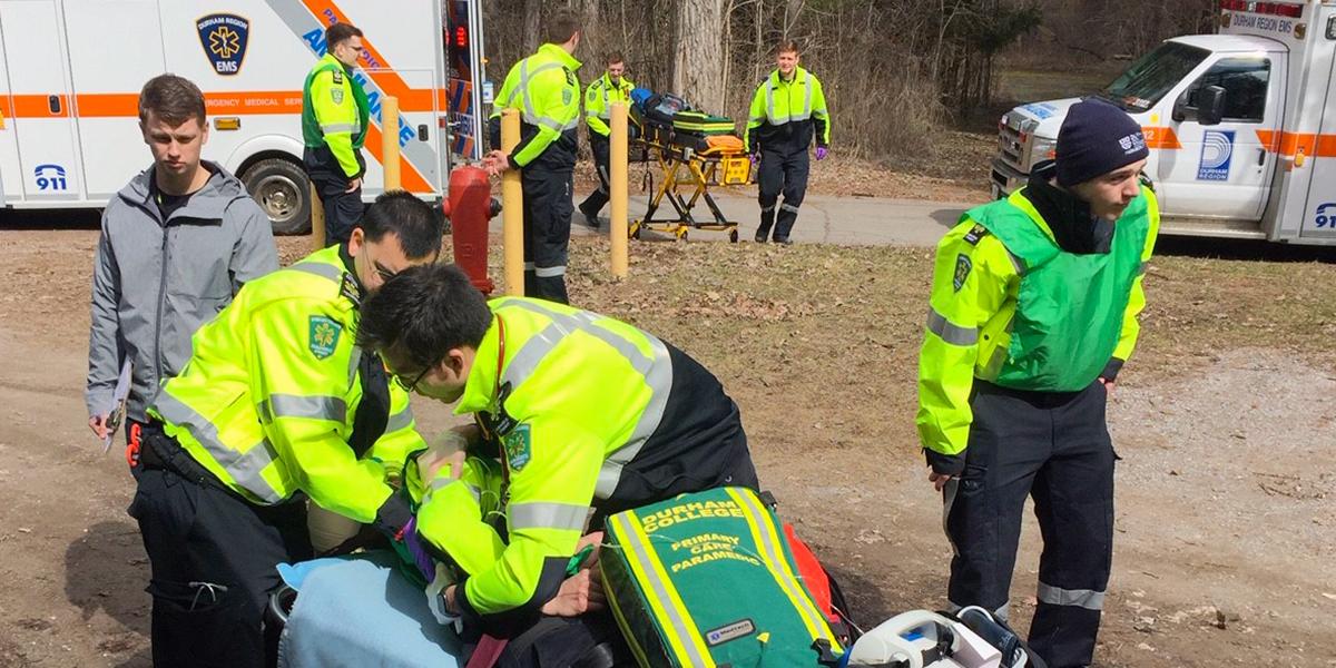 Students in DCs Paramedic programs
