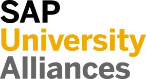 Logo for SAP University Alliances.