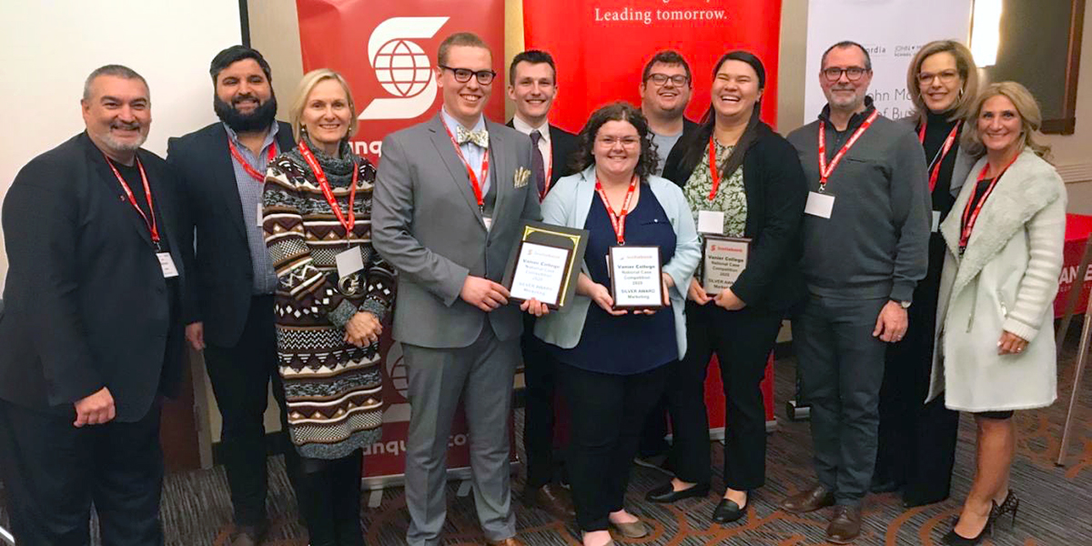Image for DC students win silver at national marketing competition