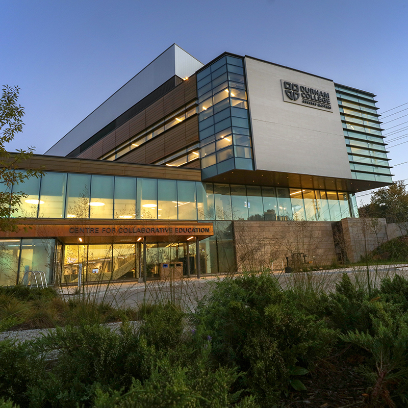 The new CFCE building
