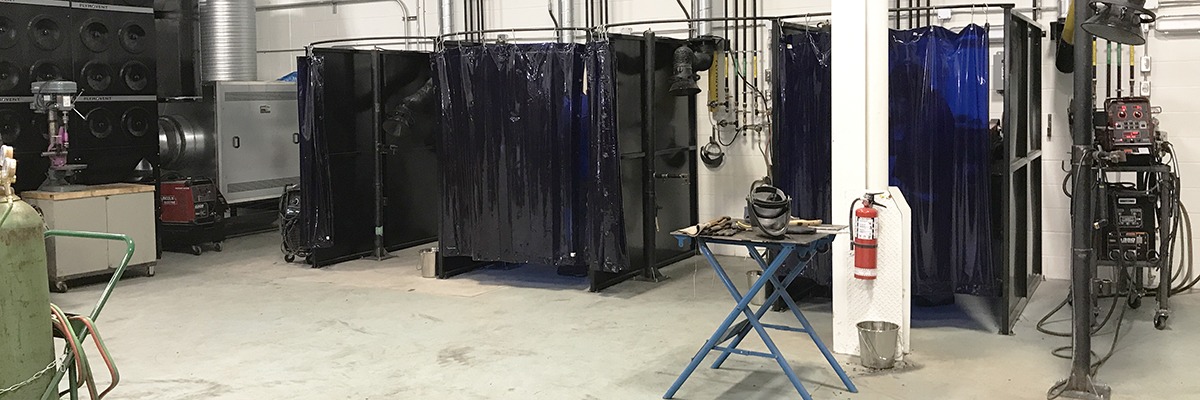 New welding stations